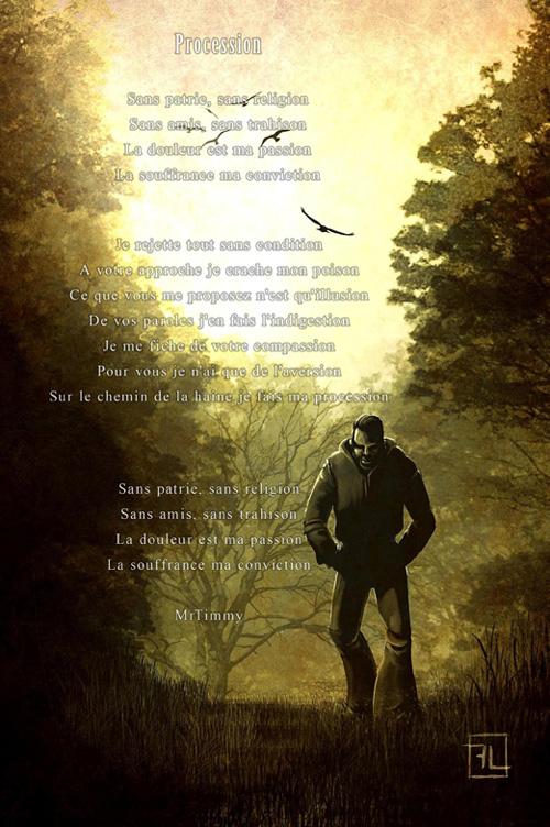 Bien connu poemes - antisocial - Rose Rouge - Poèmes et Ecrits Sombres AB26